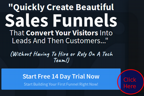 start free trial with clickfunnels