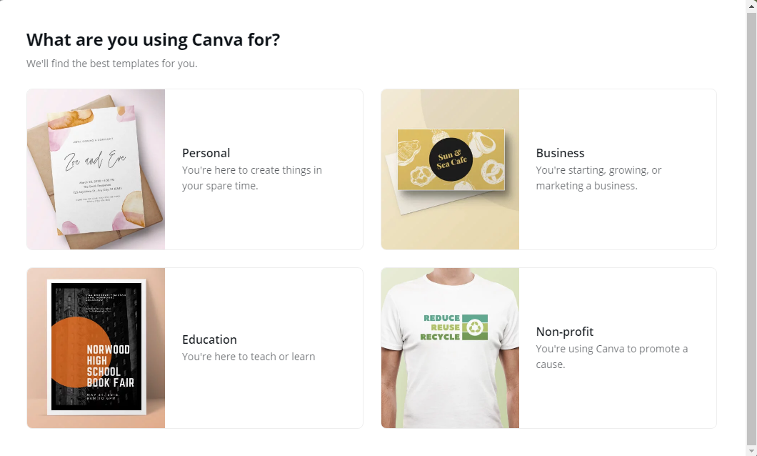 onboarding with Canva