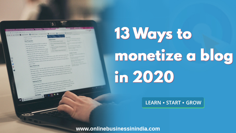 13-ways-to-monetize-a-blog-in-2020