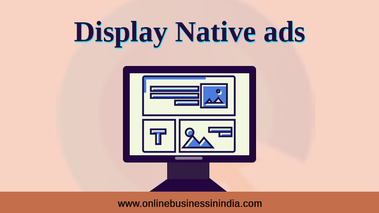 display native ads to monetize blog