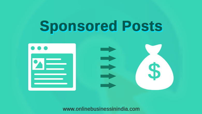 Sponsored Posts on Your Blog