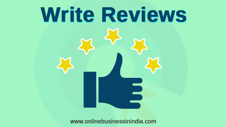 write paid reviews on your blog to earn money