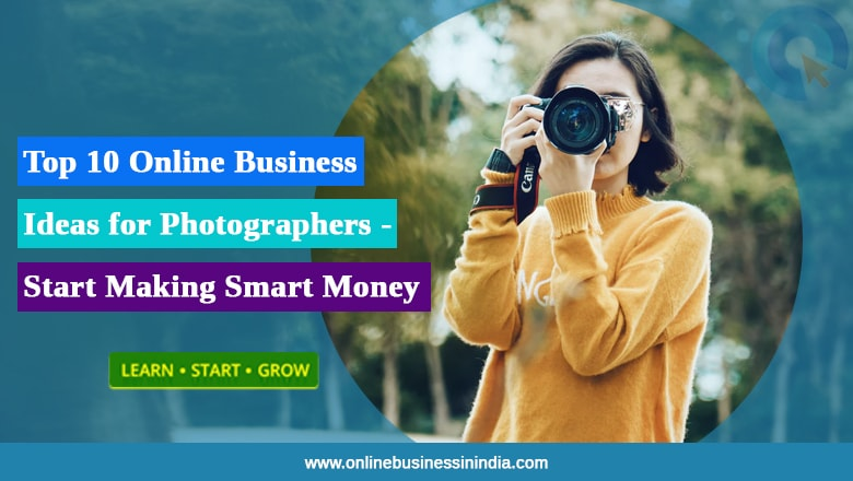 Online Business for Photgrapher