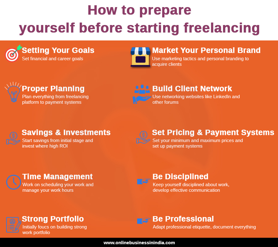 Tips to start freelancing