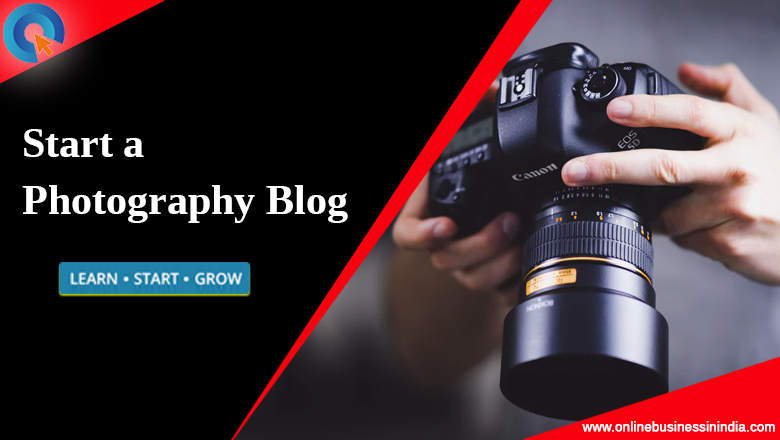 start a photography blog
