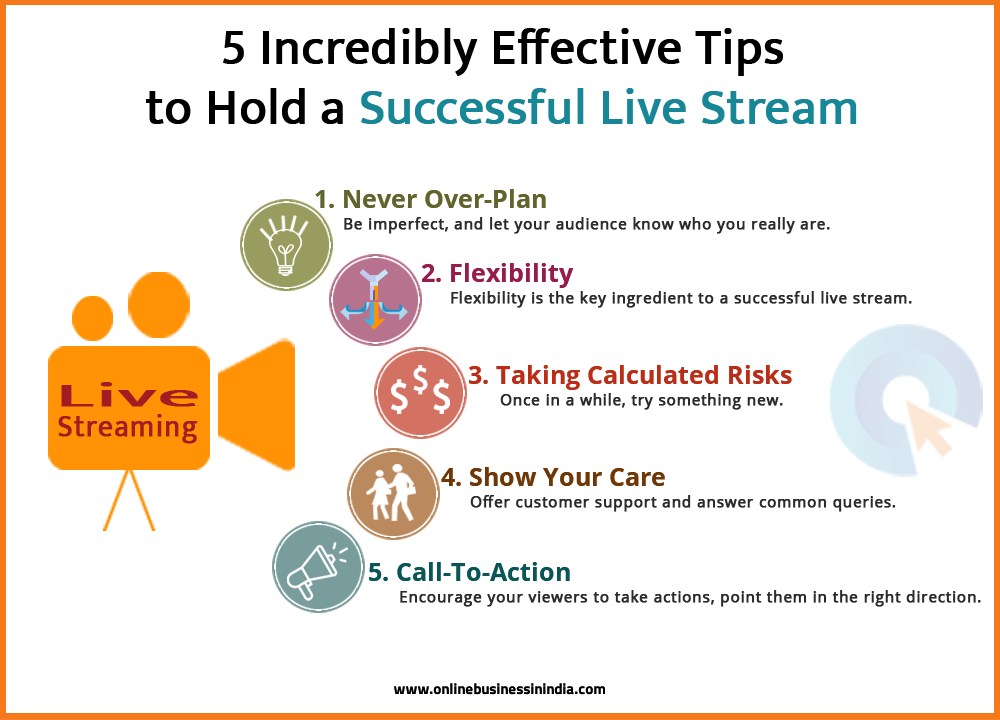 marketing tips for a successful live streaming