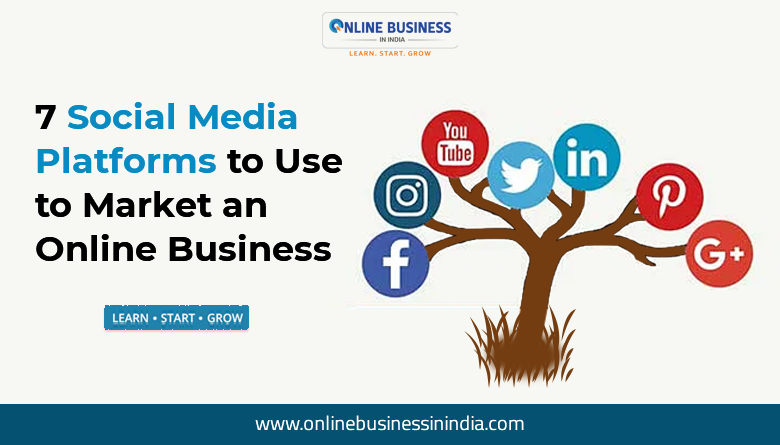 online business with social media