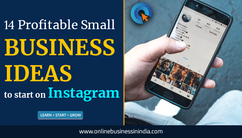 profitable small business ideas for instagram