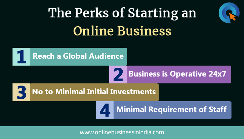 perks of starting an online business in inda