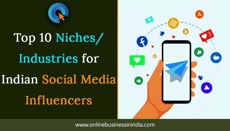 top niches for indian social media influencers