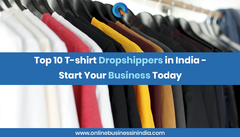 top tshirt dropshippers in india