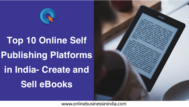 top online self publishing platforms in india